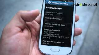 Hands on Galaxy SIII Mini I8190L