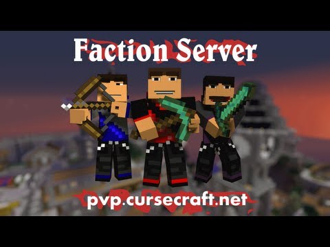 Minecraft Server: Cursecraft - Faction / PvP Server - Collectin' Headz Ep. 1!