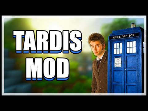 Minecraft TARDIS Mod! Travel in Time and Space! (Minecraft v1.7.10 Mod Spotlight)