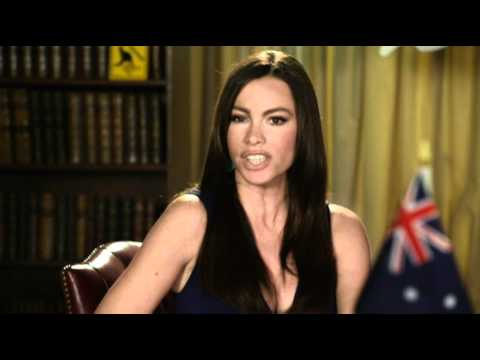 Sofia Vergara speaks to Tony Abbott!