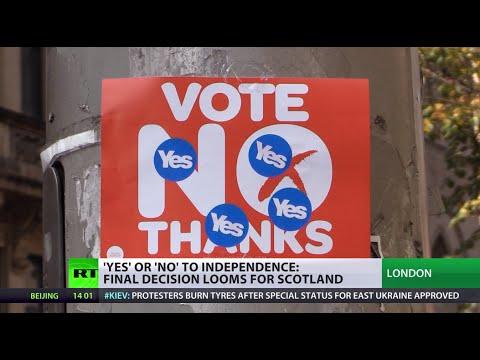 UK's 300-yr make-or-break: #Indyref Scotland