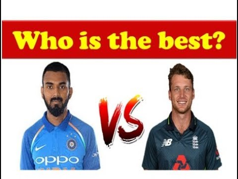 KL Rahul vs Jos Butler batting comparison 2018 || India vs England 1st T 20 highlights