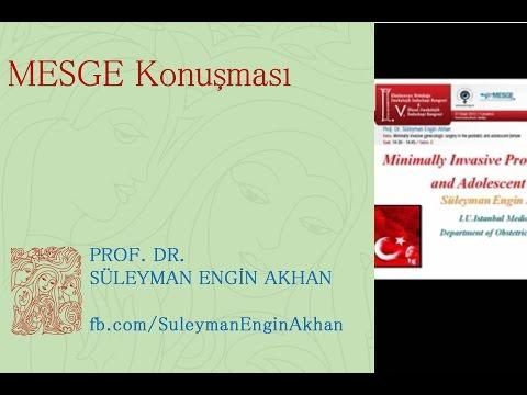 Kız Çocuklarında laparoskopik cerrahi nasıl uygulanır? MESGE Konuşması - Süleyman Engin Akhan thumbnail