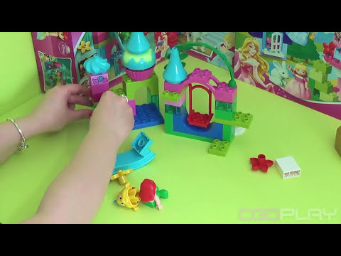 ♥ LEGO Disney Princess Ariel Undersea Castle Unboxing (LEGO Toys for Girls)