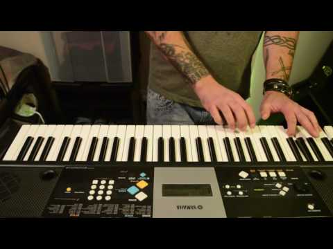 Playing Acoustic/Classical Guitar Riff On A Yamaha Keyboard - Part 2 - ORIGINAL COMPOSITION.