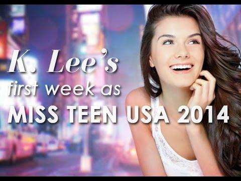 K. Lee Graham's First Week as Miss Teen USA 2014