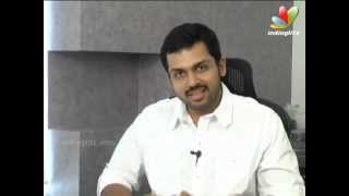 Alex Pandian - Karthi's Take On Alex Pandian | Bad Boy | Interview | Song  Latest Tamil Movie