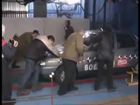 Краш тест Lada 2110