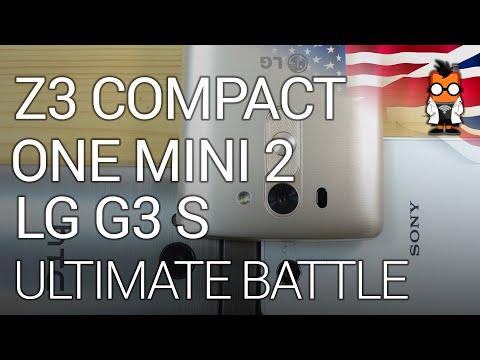 Sub- 5 Inch Smartphone Battle: Z3 Compact vs G3 S vs One Mini 2