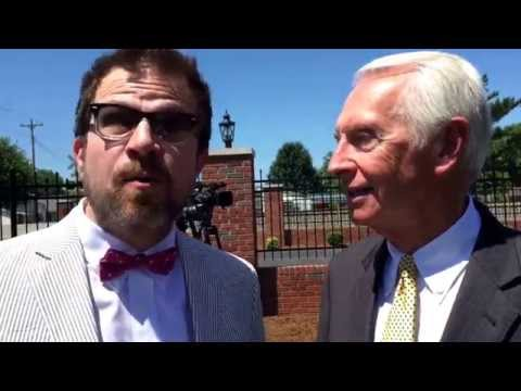 Governor Steve Beshear talks Kentucky Bourbon