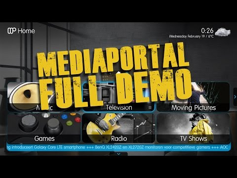 MediaPortal Demo   Review   HTPC Media Player Specs   Windows 7 Thermaltake Nvidia Intel HD Unboxing