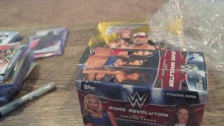Unboxing from Randy! WWE Divas Revolution Box