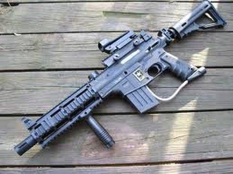 Project Salvo paintball gun Review and Firing test