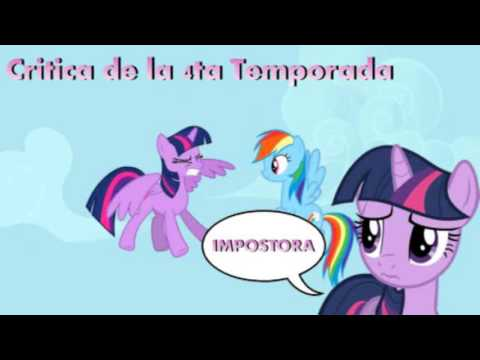 Mlp Temp 4 Critica Reina Del Caos video