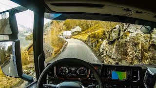 POV Driving Scania S520 - Odda - Ålvik Rv13 (Part 2/3)