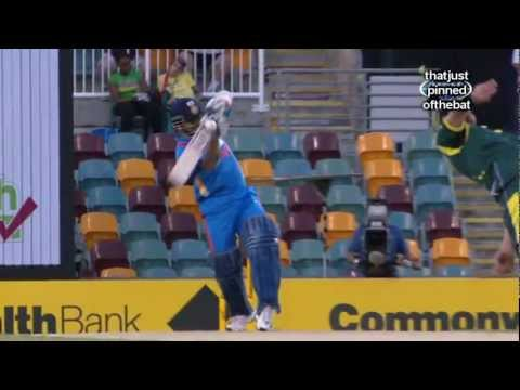 Brett Lee Bouncer hits Sachin Tendulkar