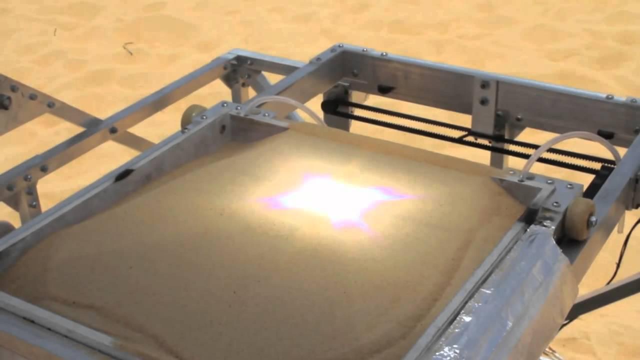 Une imprimante 3D solaire