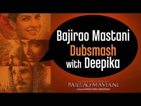 Deepika Padukone Invites You To Participate In The #BajiraoMastaniDubsmash Contest!