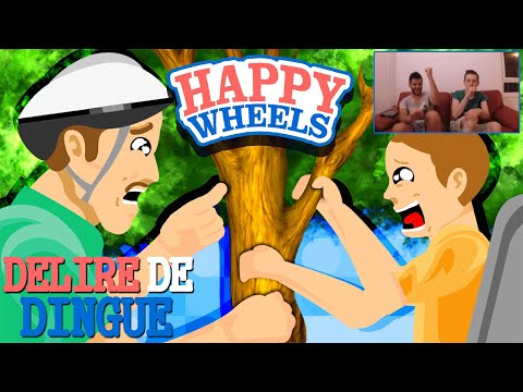 Happy Wheels - Délire de Dingue