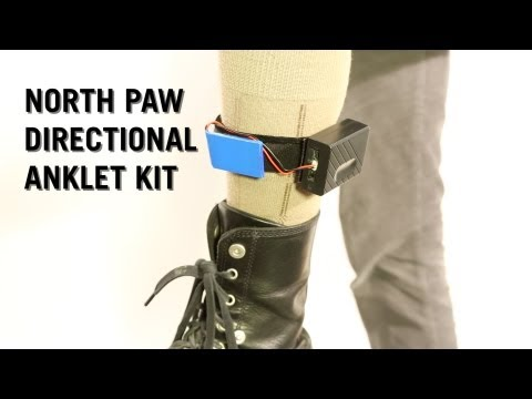 North Paw Directional Anklet Kit from ThinkGeek