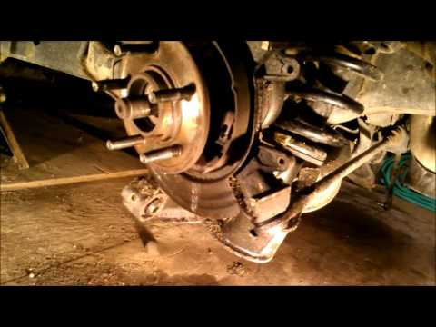 Rear bearing replacement on a 2004 Ford Explorer