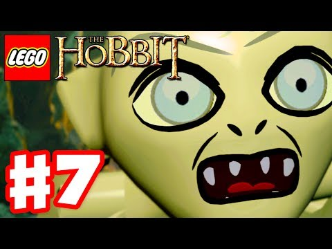 LEGO The Hobbit - Gameplay Walkthrough Part 7 - Gollum (Xbox One, PS4, PC)