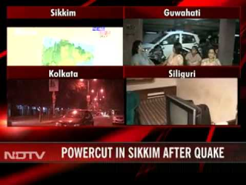 Earthquake in Sikkim- 9 dead strong tremors in North and East India
