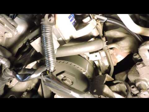 1997 Mazda MPV. Checking Timing Belt Marks
