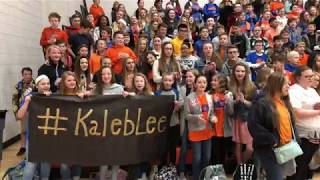 Download Lagu South Marshall Middle School Supports Kaleb Lee on The Voice Gratis STAFABAND