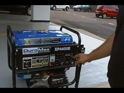DuroMax XP4400E Planta electrica o Generador a Gasolina