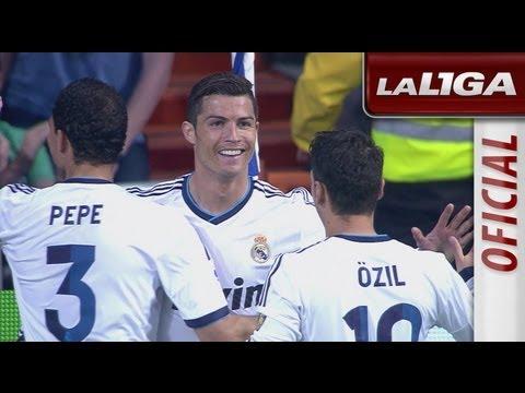 Resumen de Real Madrid (4-3) Real Valladolid - HD