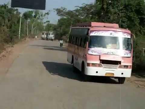 Bad Roads in India Madhya Pradesh India Bad