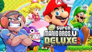 LET'S TRY THIS NEW SUPER MARIO BROS. U DELUXE [NINTENDO SWITCH]
