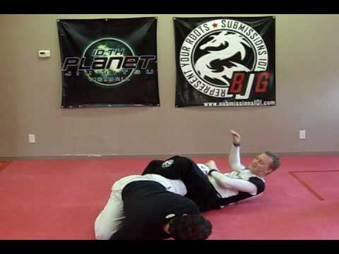 Knee Bar Sweep from Stacking Guard Image 1