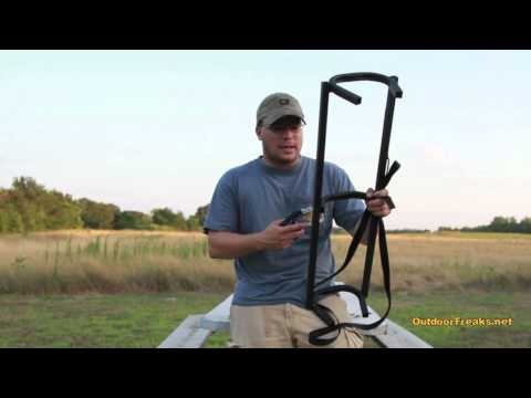 Big Game Treestands (Cheap Climbing Sticks) Stagger Steps Review