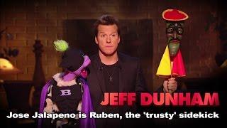 """José Jalapeño is Ruben, the 'trusty' sidekick"" | Minding the Monsters  | JEFF DUNHAM"