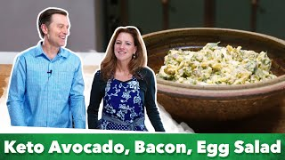 Easy Keto Avocado Egg Salad Recipe | Karen and Eric Berg