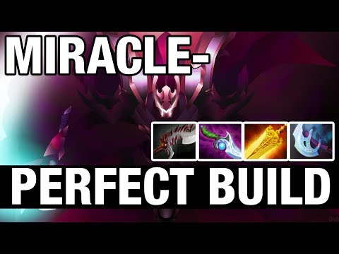 PERFECT BUILD - Miracle- Plays Spectre - Dota 2