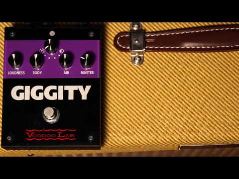 Giggity Overview - The Analog Mastering Preamp for Guitar