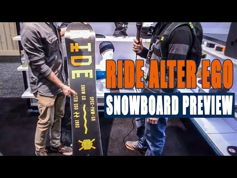 2015 Ride Alter Ego Snowboard Preview