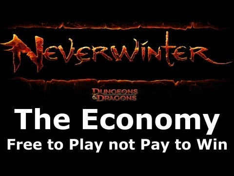 Neverwinter - Economy Overview (Free to Play or Pay to Win?)
