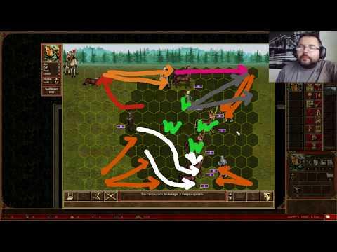 Heroes 3 HotA: Max Crypt vs Rampart Ivor Day1 - ABHaliza