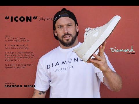 "Brandon Biebel Diamond Footwear ""ICON Part"""