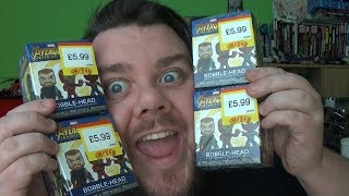 Avengers Infinity War Funko Mystery Minis Bobble Heads Unboxing Review