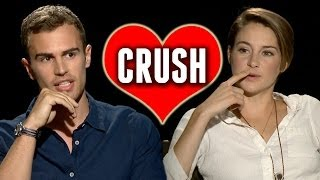 Which Celebrity is the Divergent Cast Crushing On?