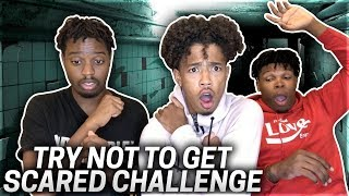 TRY NOT TO GET SCARED 😱 WE WERE TERRIFIED 😭 | CHRIS GILLY