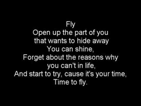 Hilary Duff fly lyrics