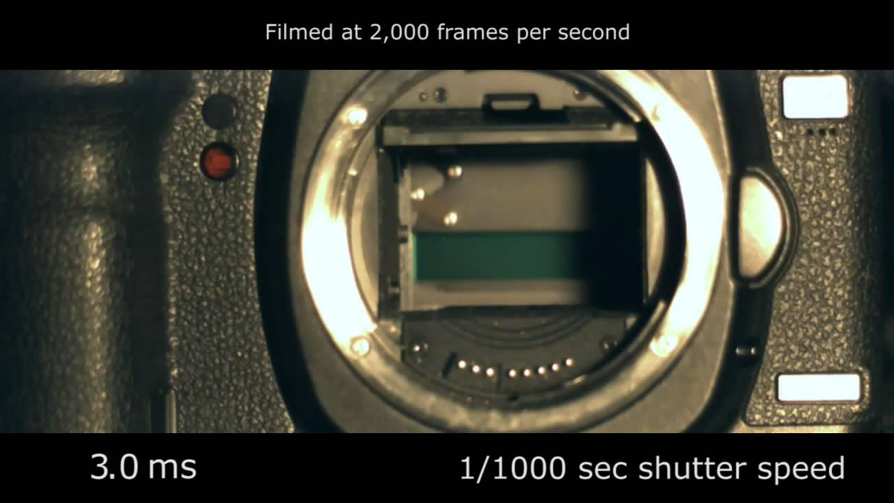Slow Motion Camera Shutter Canon 5d Mark Ii 2 000 Fps