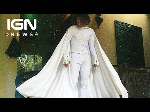 Jaden Smith Dressed Up in a White Batsuit for Prom - IGN News
