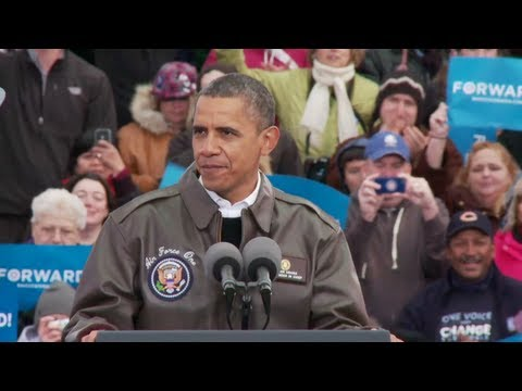 President Obama in Green Bay, Wisconsin - Full Speech 11/1/2012